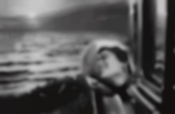 Elliott Erwitt-California Kiss, Santa Monica-1955