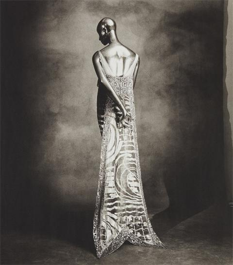 Irving Penn-Callot Swallow-Tail Dress-1974