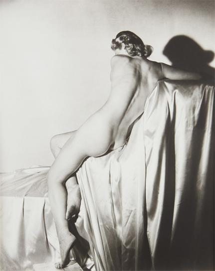 Horst P. Horst-Lisa On Silk I, N.Y.-1940