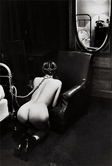 Helmut Newton-Hotel Room, Place De La Republique, Paris-1976