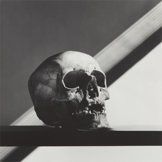 Robert Mapplethorpe-Skull-1988
