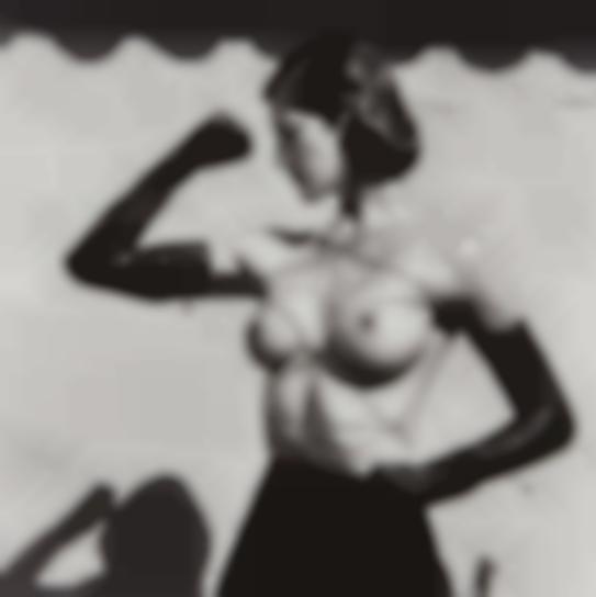 Helmut Newton-Tied-Up Torso, Ramatuelle-1980