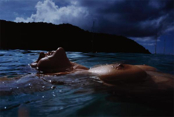 Nan Goldin-Valerie Floating In The Sea, Mayreaux-2001