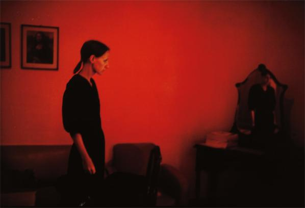 Nan Goldin-Suzanne With Mona Lisa, Mexico City-1981