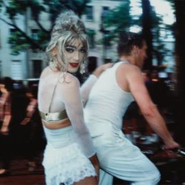 Nan Goldin-Jimmy Paulette On Davids Bike, N.Y.C.-1991