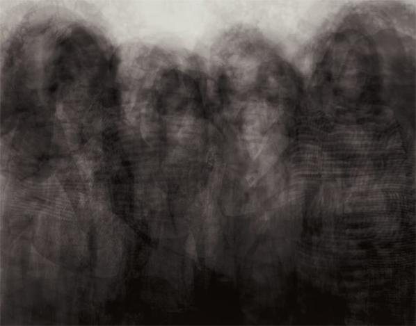 Idris Khan-Every... Nicholas Nixons Brown Sisters-2004