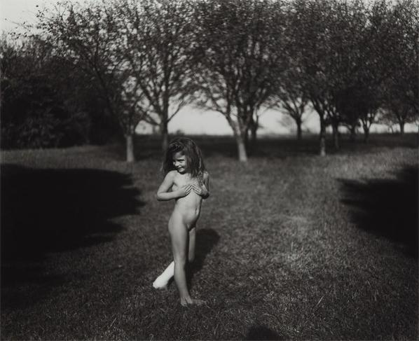 Sally Mann-Modest Child #2-1990