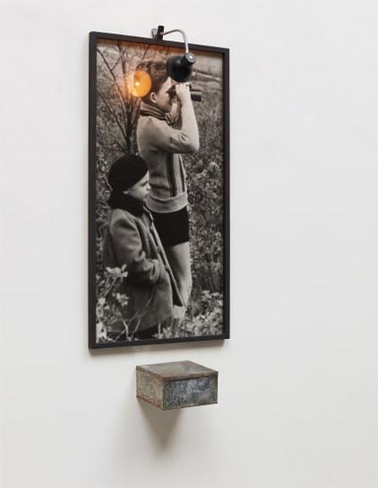 Christian Boltanski-Portrait Of Two Boys With Binoculars-1991