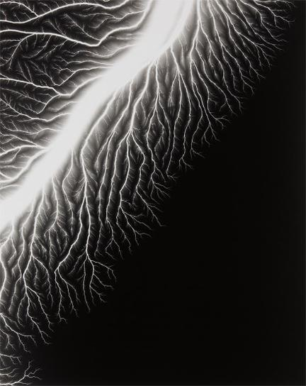 Hiroshi Sugimoto-Lightning Fields 128-2009
