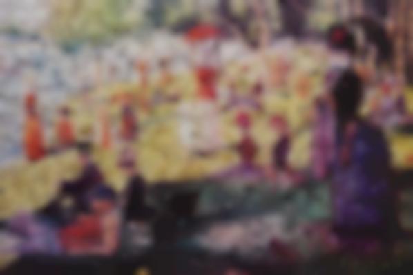 Vik Muniz-A Sunday On La Grande Jatte, After Georges Seurat From Gordian Puzzles-2009