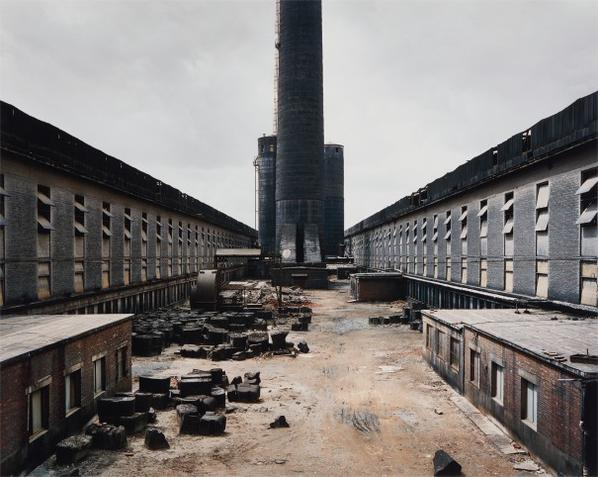 Edward Burtynsky-Old Factories #1, Fushun Aluminum Smelter, Fushun City, Liaoning Province, China-2005
