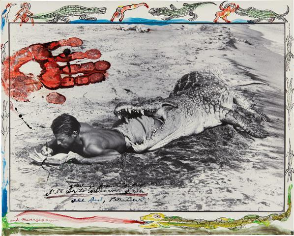 Peter Beard-Ill Write Whenever I Can, Koobi Fora, Lake Rudolf, Kenya-1965