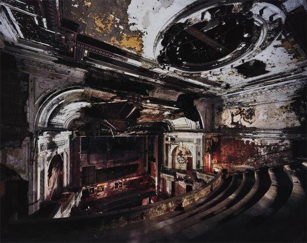 Yves Marchand and Romain Meffre-The National Theater From The Ruins Of Detroit-2007