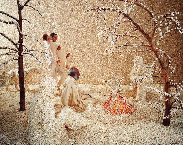Sandy Skoglund-Raining Popcorn-2001