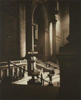 Drahomir Josef Ruzicka-Penn Station, New York-1941