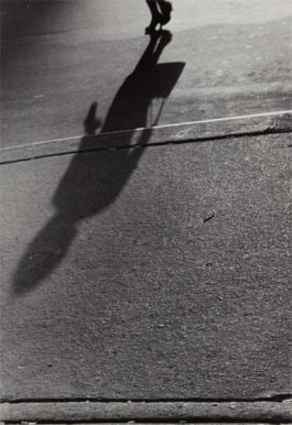 Lisette Model-Untitled (Shadows, Woman With Handbag)-1941