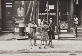 Helen Levitt-N.Y.C. (Women In Front Of Candy Store)-1945