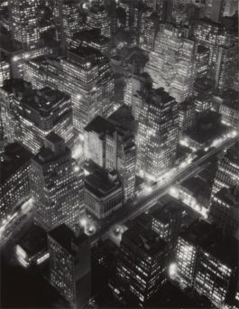 Berenice Abbott-New York At Night-1932