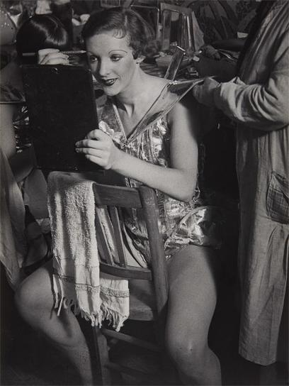 Brassai-An English Girl In Her Dressing Room At The Folies-Bergere-1932