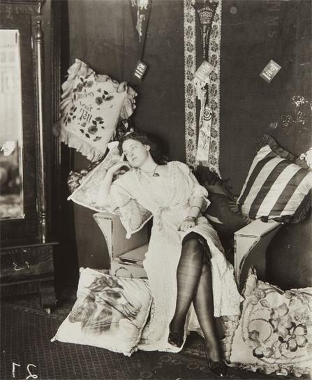 E.J. Bellocq-Marguerite Griffin, Storyville, New Orleans-1912
