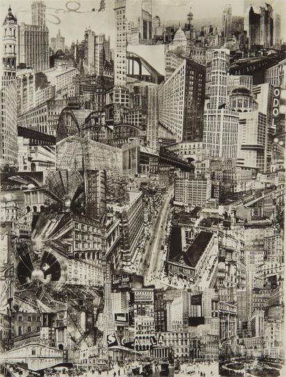 Paul Citroen-Metropolis-1923