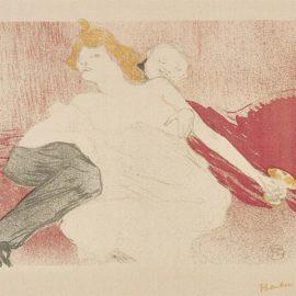 Henri de Toulouse-Lautrec-Debauche (Deuxieme Planche)-1896