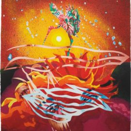 James Rosenquist-The Bird Of Paradise Approaches The Hot Water Planet, From Welcome To The Water Planet-1989