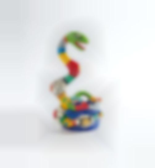 Niki de Saint Phalle-Serpent Vase-1986