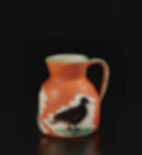 Pablo Picasso-Pitcher With Birds (Pichet Aux Oiseaux)-1962