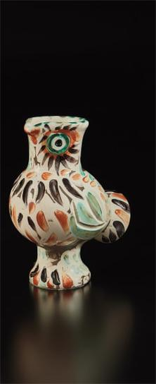 Pablo Picasso-Wood-Owl (Chouette)-1969