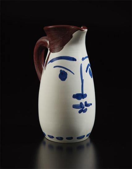Pablo Picasso-Face Tankard (Chope Visage)-1959