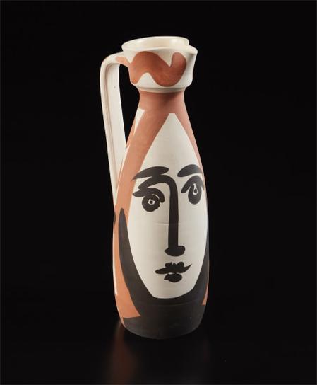 Pablo Picasso-Face (Visage)-1955