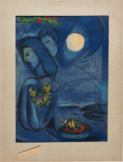 Marc Chagall-After Marc Chagall - Saint-Jean-Cap-Ferrat-1952