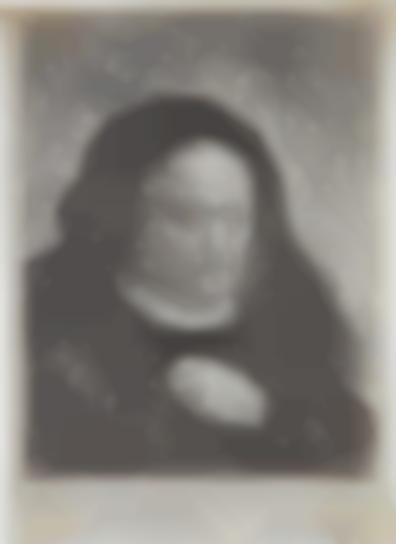 Rembrandt Harmensz Van Rijn - Rembrandts Mother With Her Hand On Her Chest-1631