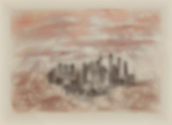 Salvador Dali-Manhattan, From New York City Suite-1964