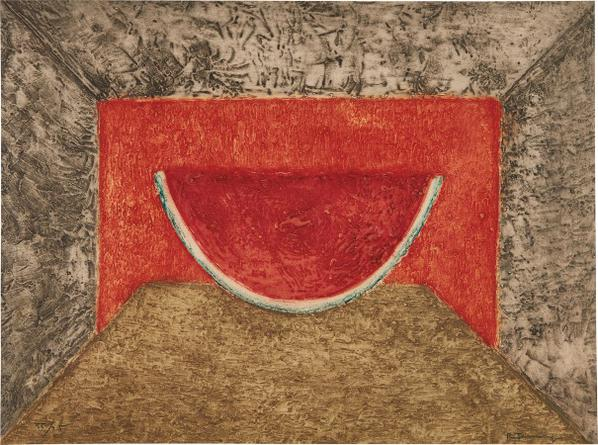 Rufino Tamayo-Interior Con Sandia (Interior With Watermelon)-1975