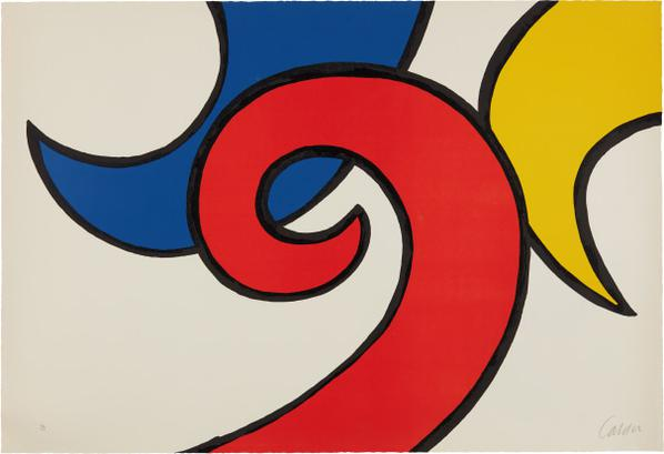 Alexander Calder-Les Vagues (The Waves)-1971