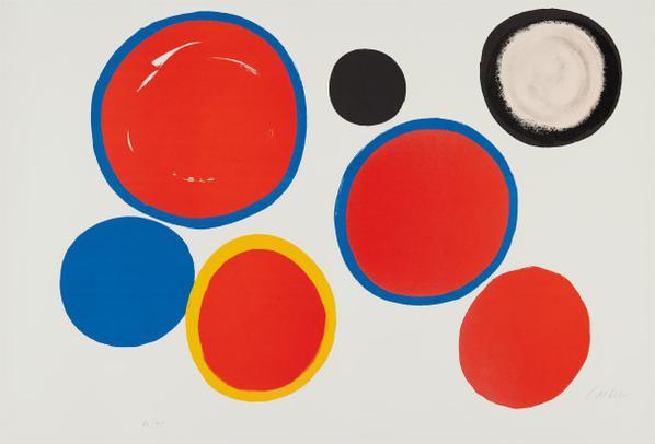 Alexander Calder-Cibles Variables (Variable Targets)-1969