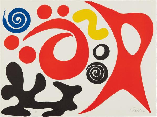 Alexander Calder-Plancton (Plankton)-1976