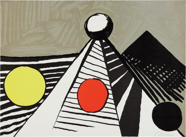 Alexander Calder-Le Bateau Lavoir (The Laundry Boat)-1969