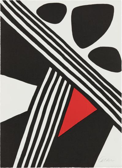 Alexander Calder-Encore De Lacier (More Steel)-1969