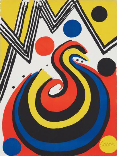 Alexander Calder-La Vague (The Wave)-1971