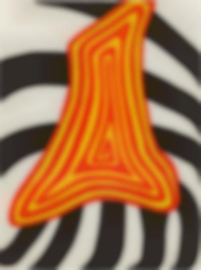 Alexander Calder-Zebre Jaune Et Zebre Noir (Zebra Yellow And Zebra Black)-1976