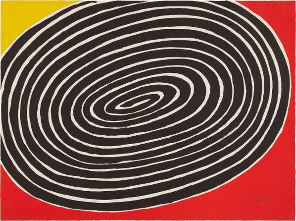 Alexander Calder-Petite Spirale-1976