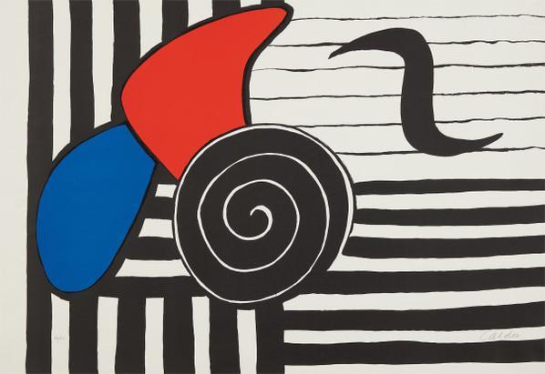 Alexander Calder-Helices (Propellers)-1969