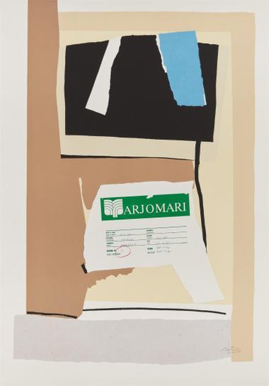 Robert Motherwell-America - La France Variations VII-1984
