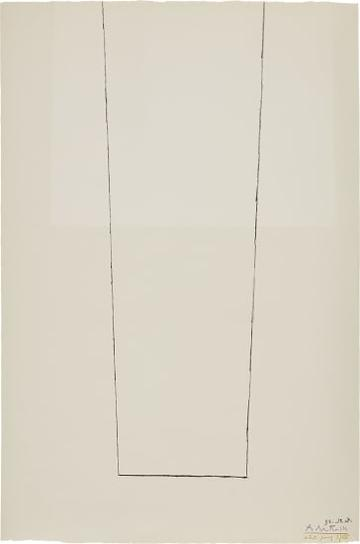 Robert Motherwell-Open On Two Whites-1973