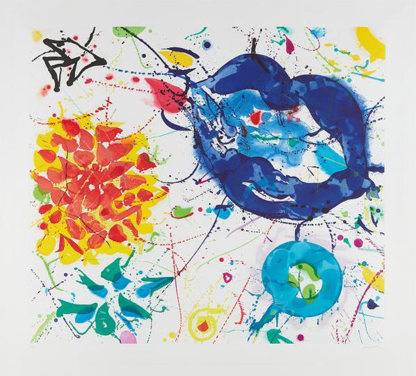 Sam Francis-Untitled III (Sfe-066)-1987