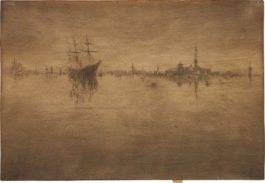 James Abbott McNeill Whistler-Nocturne, From Venice, A Series Of Twelve Etchings (The First Venice Set)-1880