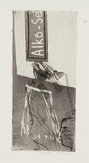 David Hockney-Alka Seltzer-1961